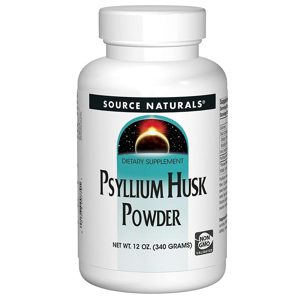 Source Naturals Psyllium Husk Powder 소스 내추럴스 실리엄 허스크 파우더 차전자피 가루 12oz (340g)