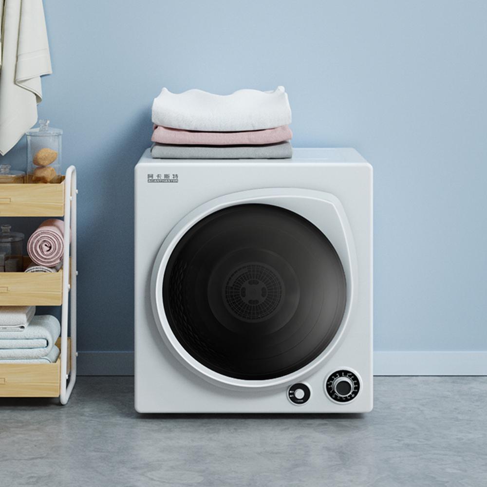 원룸 소형 의류 미니건조기 세탁기 자취생건조기 6KG 자취방 빨래건조기, 한개옵션0