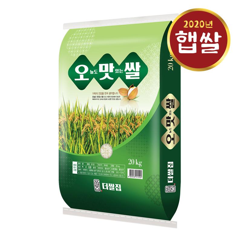 [2020년산] 오늘도맛있는쌀 20kg, 단품