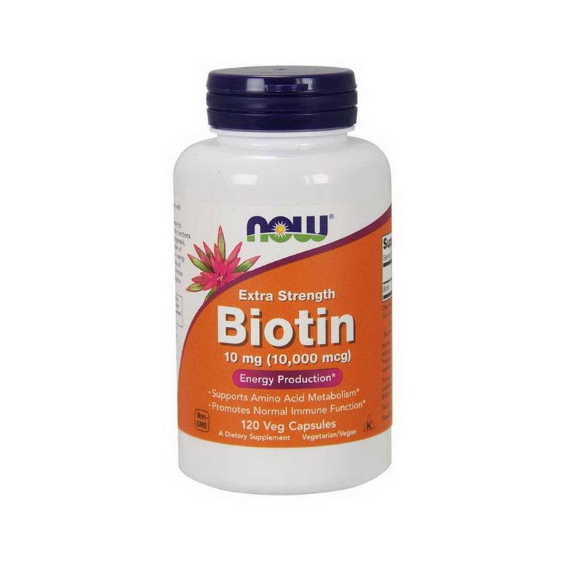 나우푸드 비오틴 비오틴효과 10000mcg 120식물성 캡슐 2팩