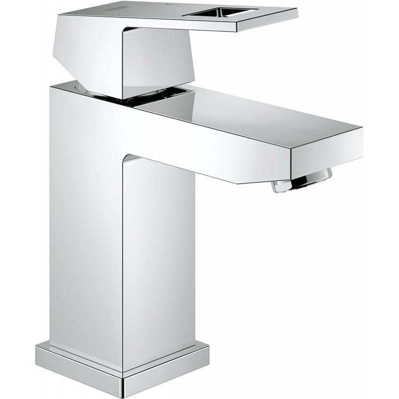 Eurocube S- 크기 싱글 핸들 싱글 홀 욕실 수전 덜 배수-1.2 GPM, 1