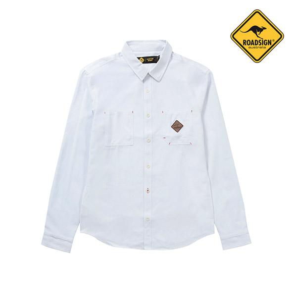 로드사인 [로드사인] P 유니 베이직 셔츠-RASY303A_WT
