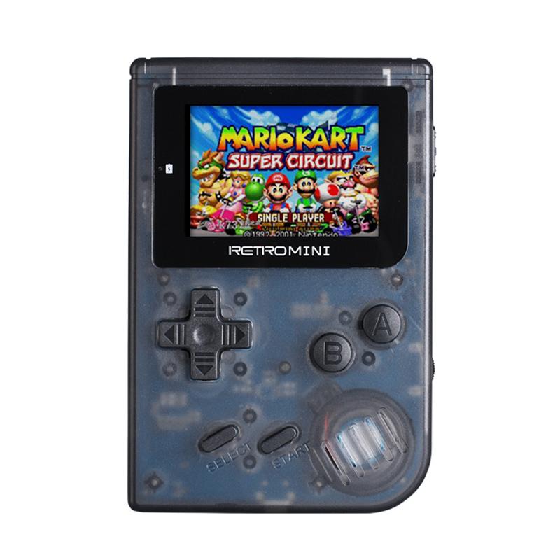 레트로 GBA 게임기 오락기 게임 보이 포켓몬 게임 콘솔, 블랙 169 게임