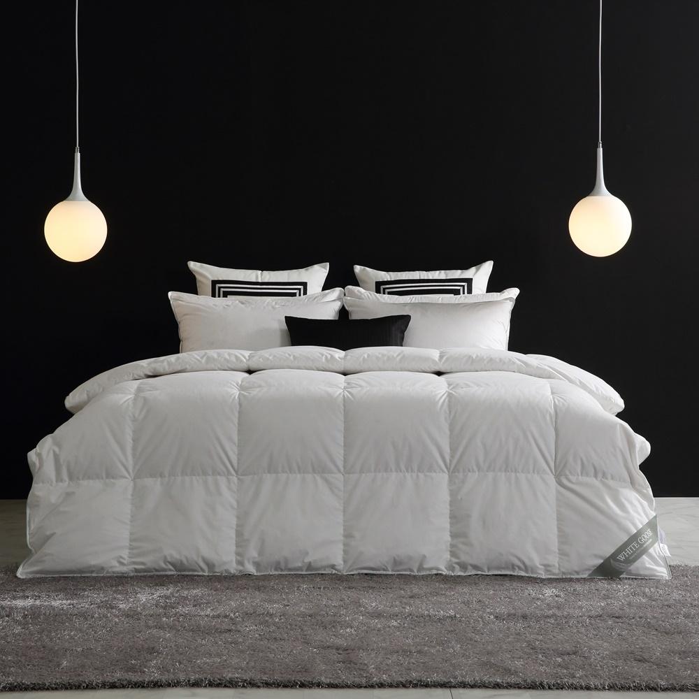 [조현디자인] 호텔식 구스베딩 워너비세트 에디션 + 화이트구스 다운 S/S 3칼라, 럭스블루