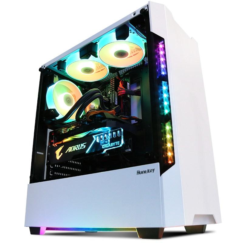 커스텀 수냉 i7 10700K/RTX3080/RTX3090 그래픽카드 게임 본체 데스크톱, 01 설정 1, 01 8GBx2 루트