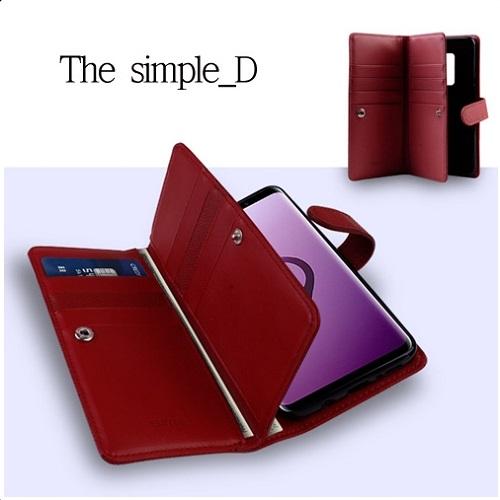 MHM The simple_D 지갑 다이어리 갤럭시S21 S21플러스 S21울트라 휴대폰 케이스