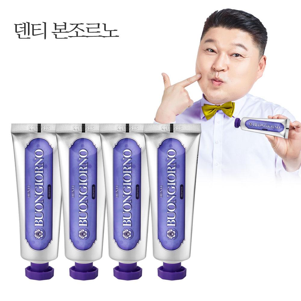아토세이프 덴티 본조르노 허니향 치약 잇몸케어, 100g, 4개