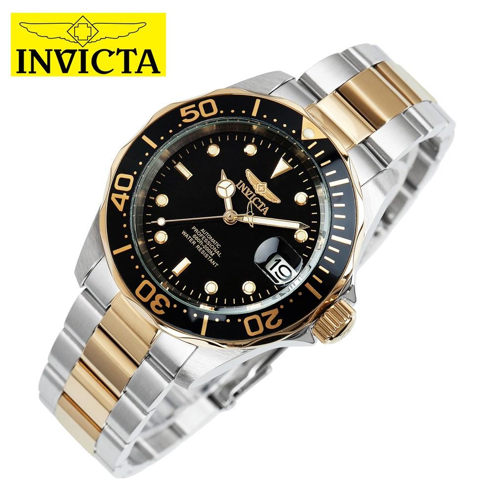 INVICTA 인빅타 Pro Diver Collection 오토매틱 카렌다 메탈시계 8927