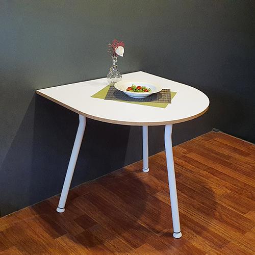 아네마름 몬드 반타원 테이블 반타원 식탁 주방 테이블