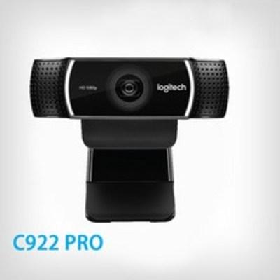 로지텍 C922 PRO STREAM 웹캠 화상카메라 PC캠 삼각대포함 캠코더