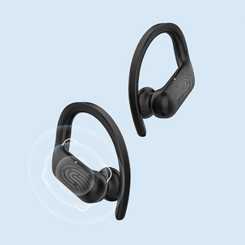 통화개선 QCY 이어폰 QCY T6 블루투스 무선 스포츠형, 단품, QCYT6이어폰