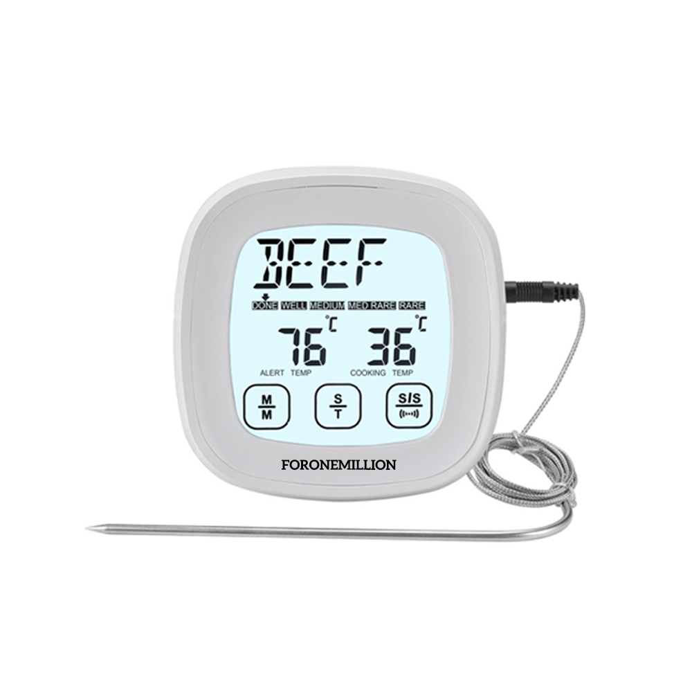 포원밀리언 디지털 바베큐 고기온도계
