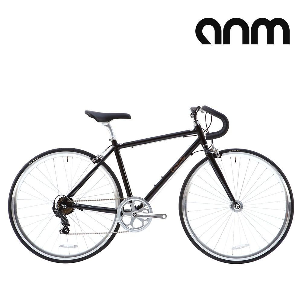 [ANM] 코벤트리 시마노7단 클래식 로드 자전거, 460mm, 블랙