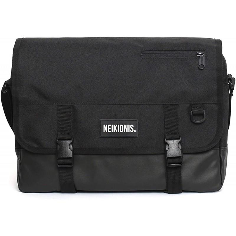 [네이키도니스] NEIKIDNIS Icon Messenger Bag 남녀 공용 가방 [병행 수입품] (Black)