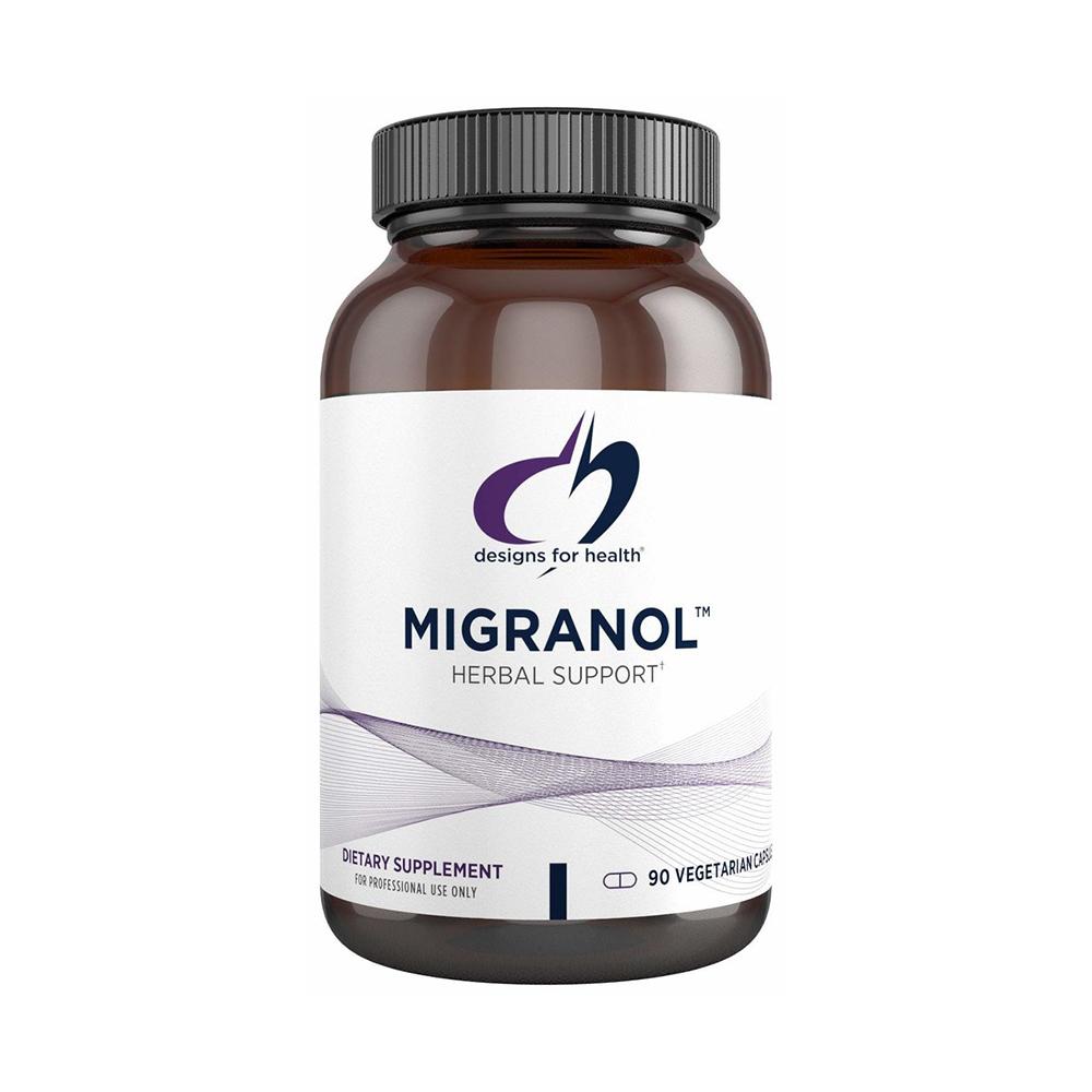 디자인포헬스 편두통영양제 Designs for Health Migranol 90캡슐, 1개