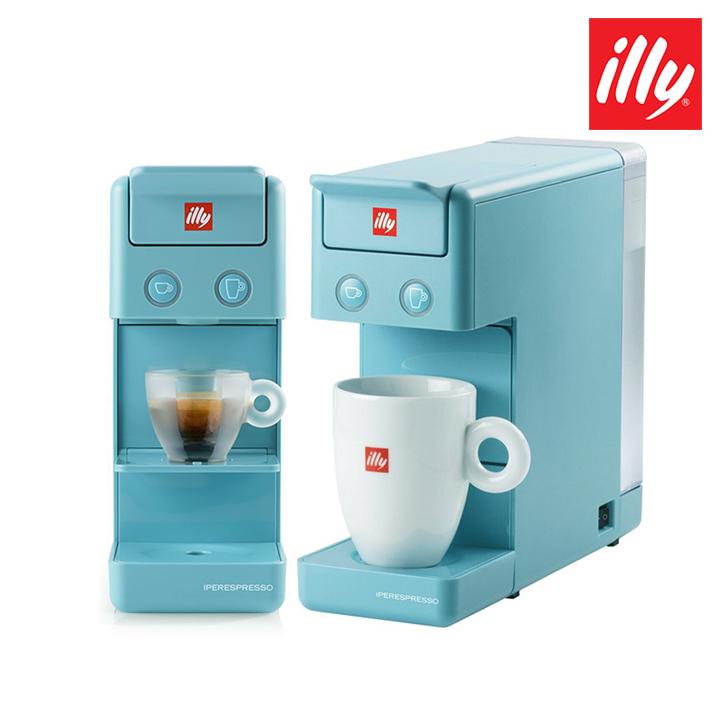 해외무료배송 독일 일리 커피머신 프란시스 Y32 블루