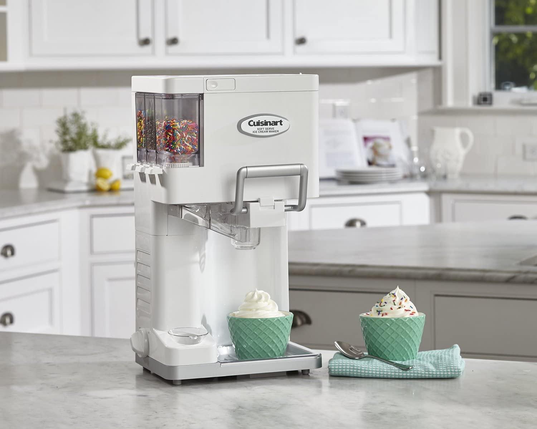 쿠진아트 가정용 소프트 아이스크림 기계 메이커 만들기 1.9L ICE-45P1