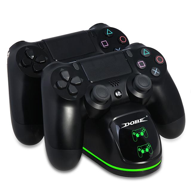 캡스톤코리아 신형 LED PS4 프로 슬림 듀얼쇼크4 컨트롤러 충전기 충전거치대, 1개, 듀얼쇼크4충전기