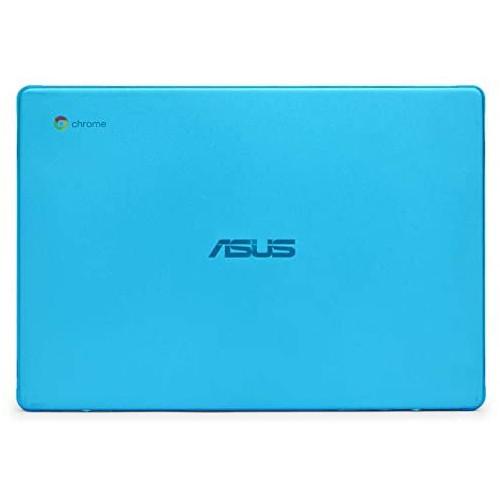노트북 파우치 mCover Hard Shell Case for 2019 14-inch ASUS Chromebook C423NA Series Laptop - ASUS C423 Aqua, Color = Aqua