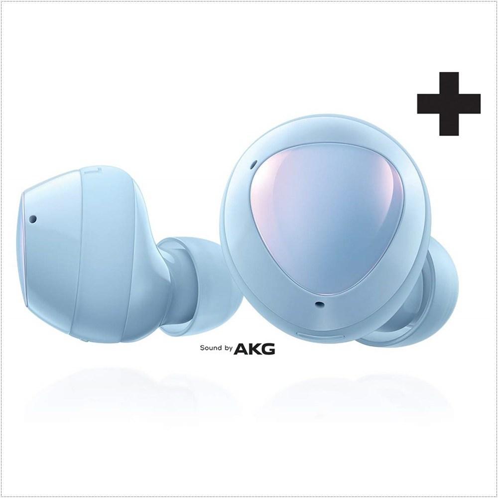 삼성전자 갤럭시 버즈 플러스 무선 블루투스 이어폰 SM-R175, Cloud Blue