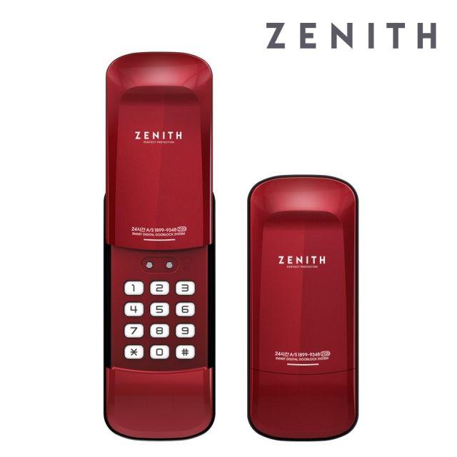 [천삼백케이] [경동나비엔_하우스플러스] 설치포함 ZENITH 디지털도어락 Z120R, 단품