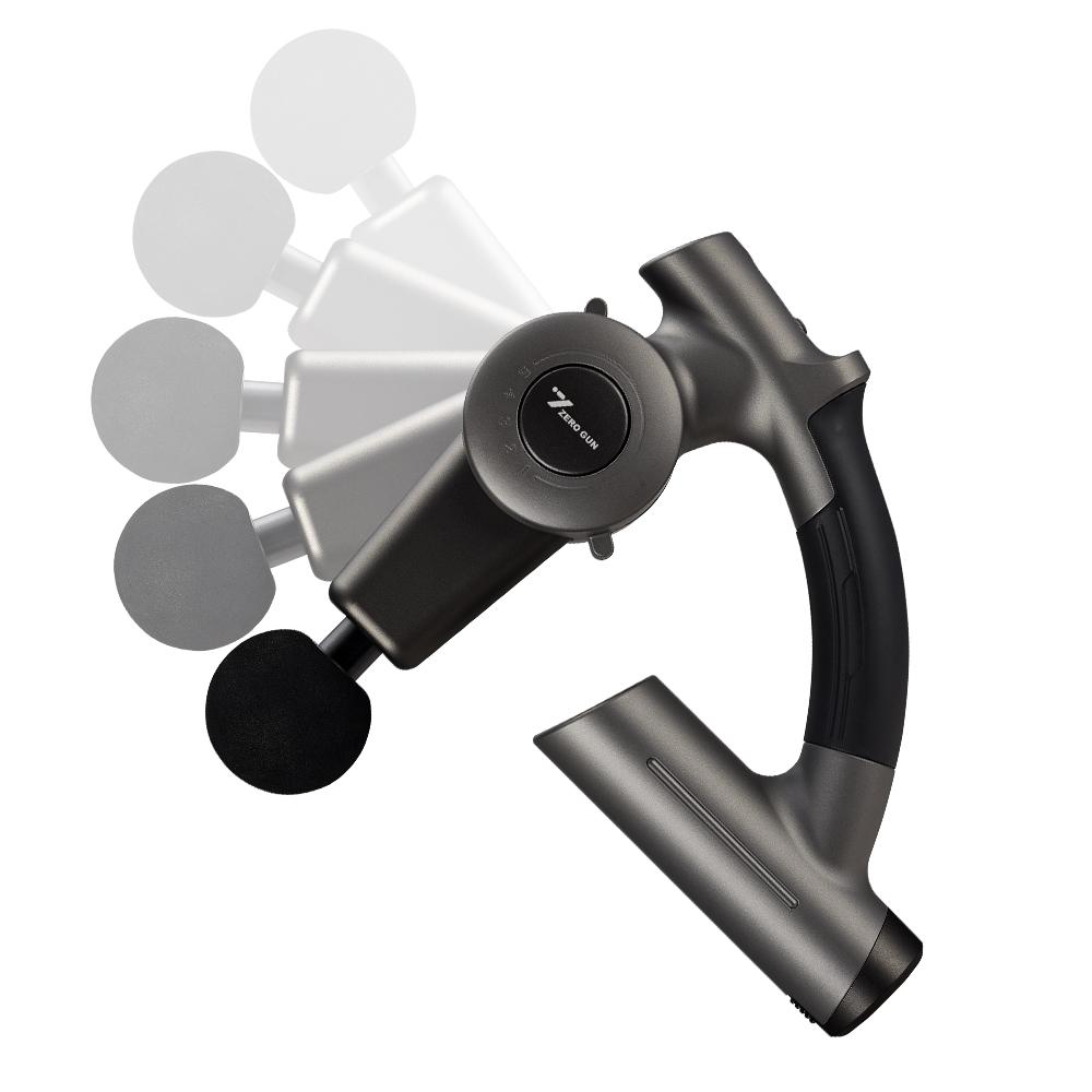 제스파 각도조절 그립 마사지건 셀프 목어깨 안마기(블랙) ZP2885