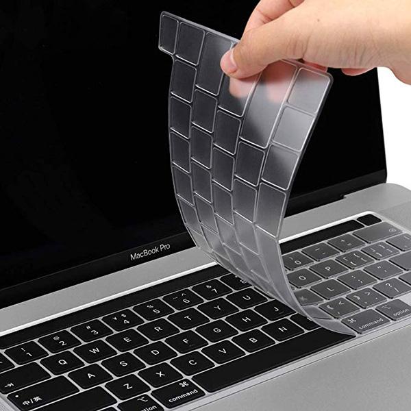 컴플렉스 맥북 프로 16인치 키스킨 한글키보드 RMA0005, 클리어