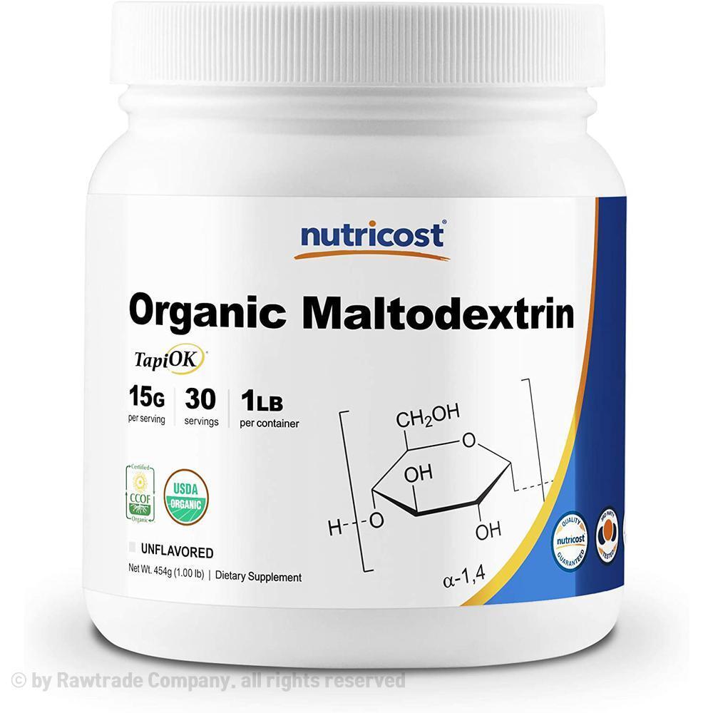 뉴트리코스트 Nutricost 말토덱스트린 파우더 분말가루 30회분 454g Maltodextrin Powder, 상품삼세참조, 1개