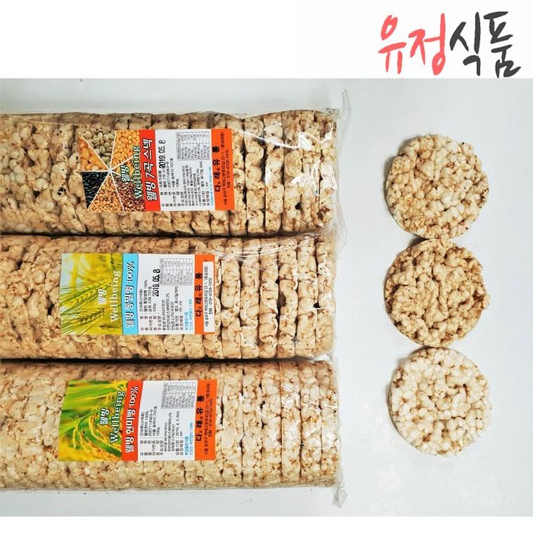 [유정식품] 다래유통 무료배송 웰빙현미100%뻥튀기 6봉
