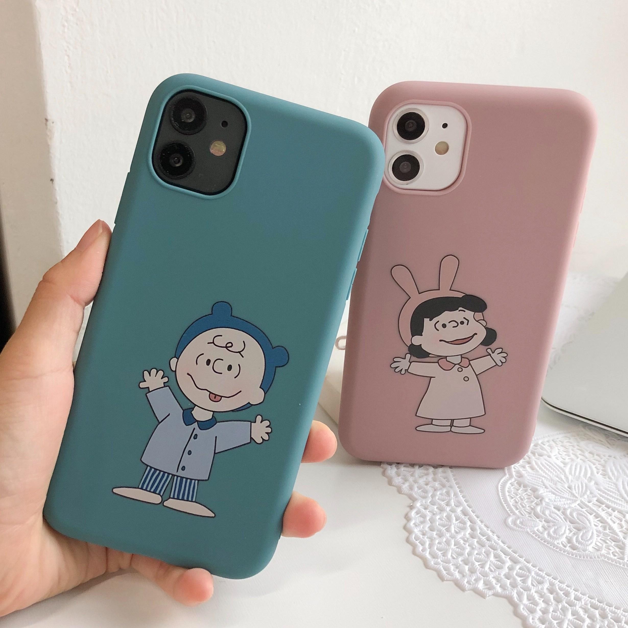 아이폰6S 7 7+ 8 8+ X XR XS MAX 파자마 커플 케이스
