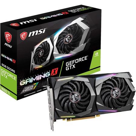 MSI Gaming GeForce GTX 1660 Ti 192-bit HDMIDP 6GB GDRR6 HDCP Support DirectX 12 Dual Fan VR Ready OC, 상세 설명 참조0