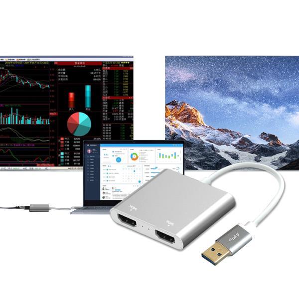 USB3.0 to HDMI 컨버터 외장그래픽카드 미러링 변환기, 상품선택