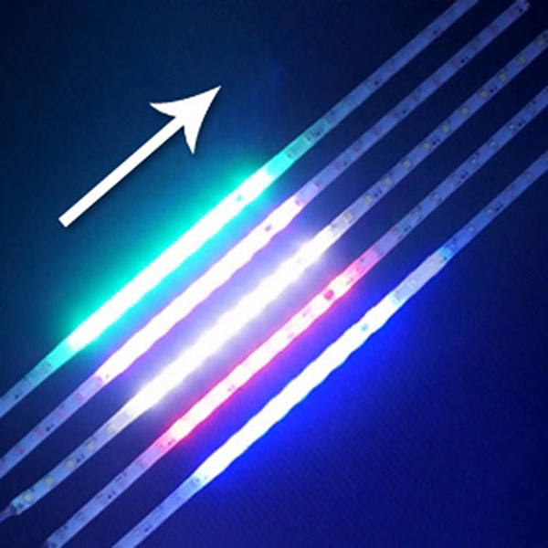 HKC86201 12V-24V 5050 3칩 스노우펄 LED바 두가지패턴 50cm단위 5M까지 A타입-12V, 1