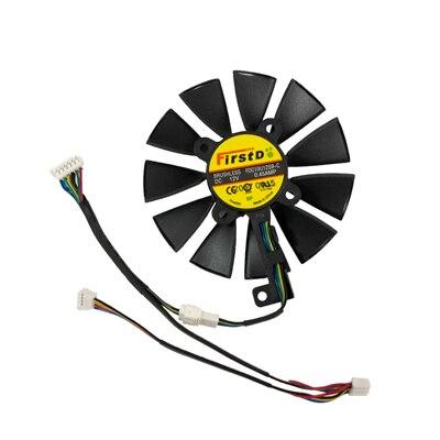 90MM (85 MM) PLD09210S12HH T129215SU VGA GTX1080TI GTX1070 그래픽 쿨러 팬 ASUS GTX 1080TI/980Ti/107, 09 A fan FDC10U12S9C
