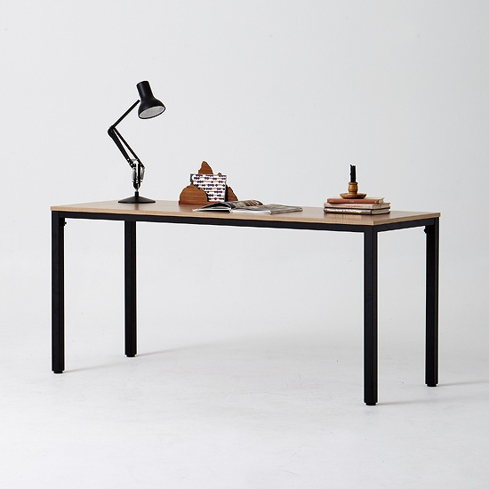 한샘 샘스틸 책상 DIY 160cm (색상 택1), 색상(프레임/상판):화이트메이플(E)