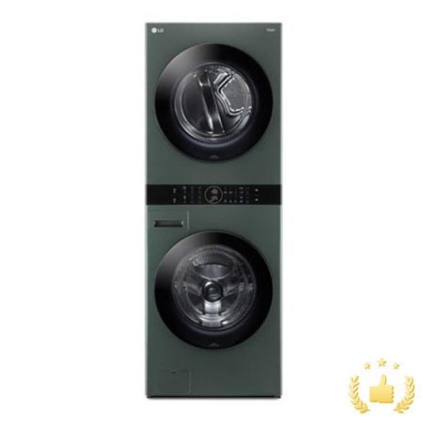 LG전자 워시타워 오브제컬렉션 W16GG [세탁기24KG+건조기16KG/네이처그린], 단품