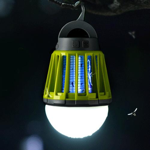 휴대용 모기 해충 퇴치 생활방수 LED 재퍼 캠핑 랜턴, 없음, 캠핑랜턴_오렌지