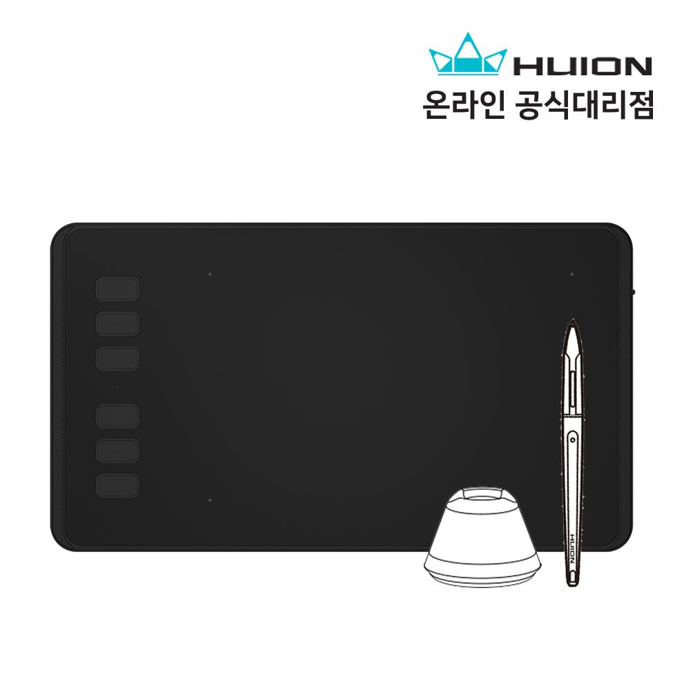 [당일출고]휴이온 타블렛 H640P 무충전 유선 펜 태블릿 디지타이져
