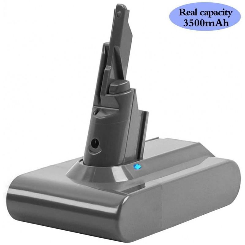 Dyson V7 배터리 용 DSANKE 21.6V 3500mAh 리튬 이온 배터리 모터 헤드 무선 진공 Dyson V7 Animal Cordless Stick Vacuum V7, 단일옵션