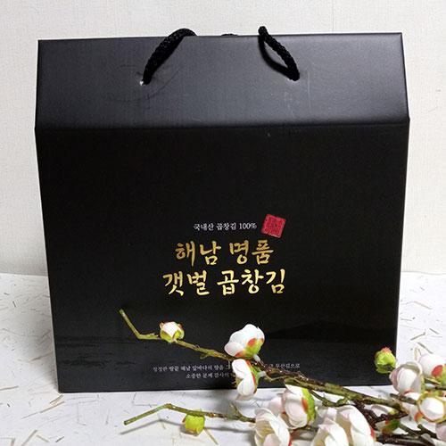 해남 곱창김 명절선물 최고등급 햇곱창김 무산김 1톳, 100장