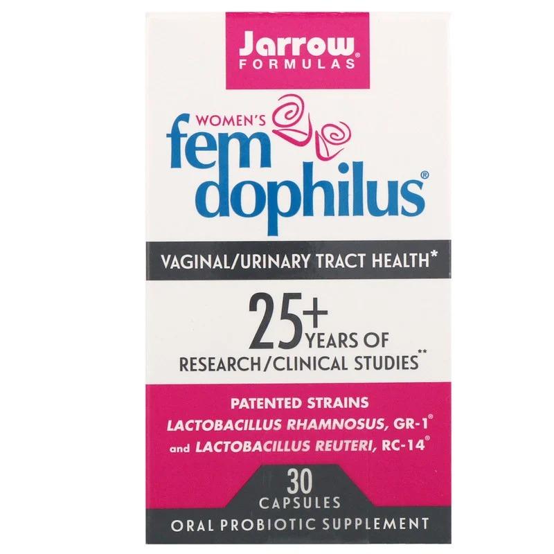 Jarrow 자로우 펨 도피러스 여성 유산균 30캡슐 100억 500억