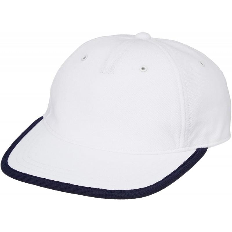 [라코스테] CAP & HAT [공식] 트리플 컬러 새끼 사슴 공원 캡 화이트 EU 000 (FREE 사이즈)