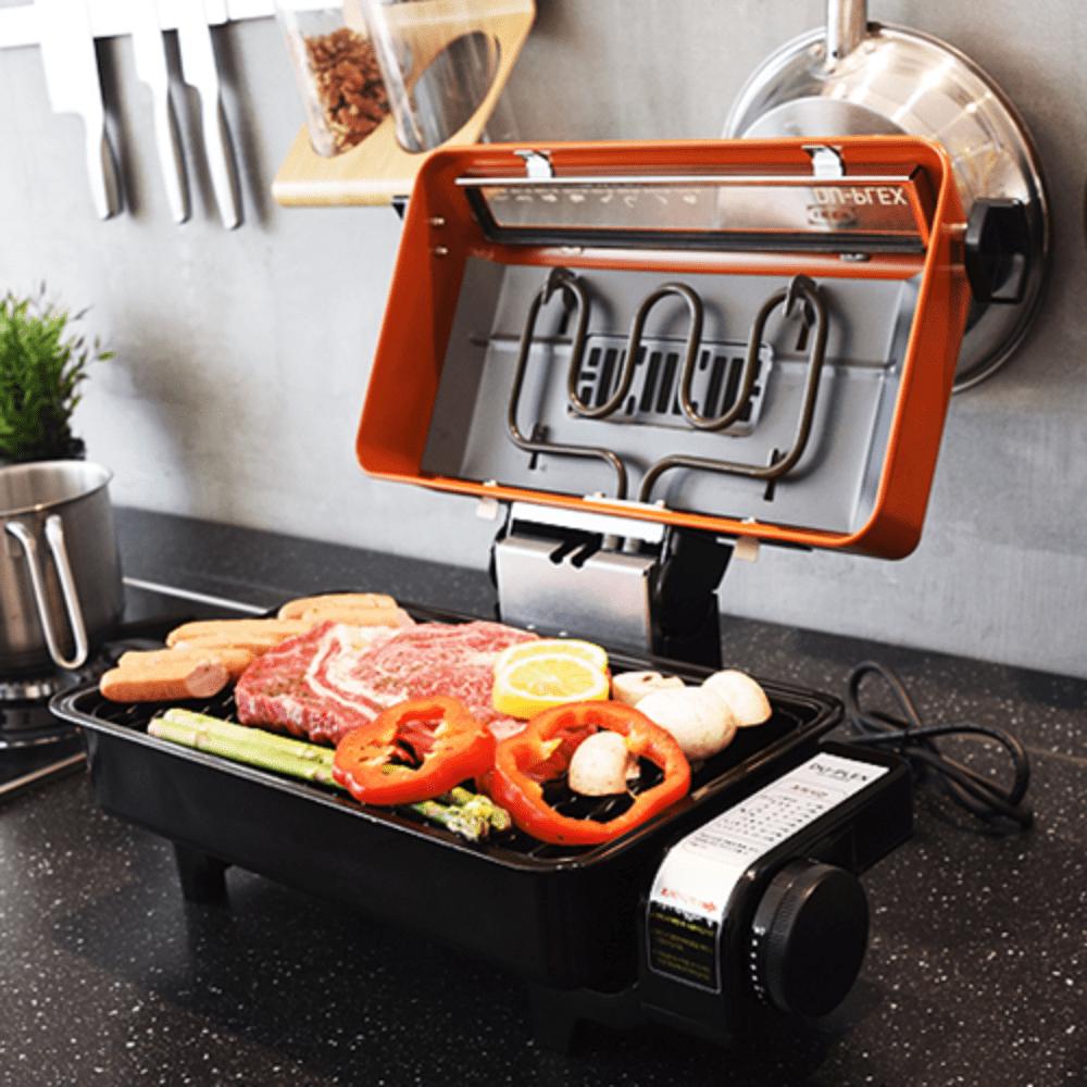연기 냄새 안나는 전기 멀티 그릴 고기 생선 굽는 기계, 단일상품