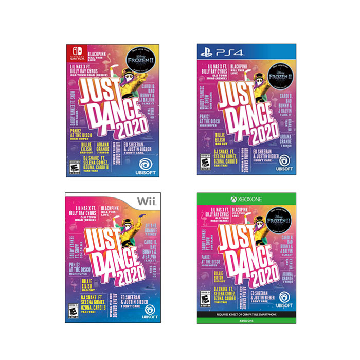 유비소프트 저스트댄스 2020 스탠다드 에디션 4종 / Ubisoft Just Dance 2020-Standard Edition, 1. Nintendo Switch