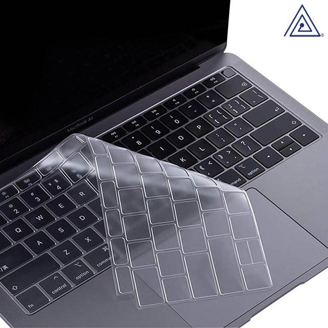 플럭스 2020 맥북 에어 13인치 A2179 투명 키스킨, 1매입