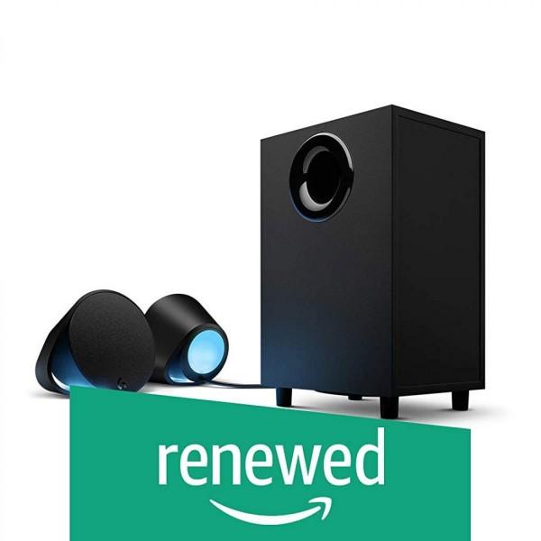 [미국 직구]로지텍 G560 PC 게이밍 스피커 RGB 라이트닝(Renewed) MZ156877240849, 상세설명참조