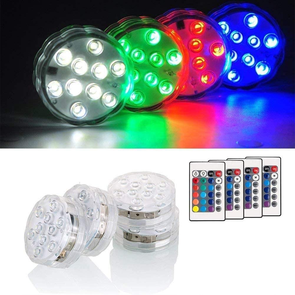 삼안 방수LED조명등 IP68 방수 리모컨 컬러 장식 잠수등 어항조명 수중등 수족관 LED