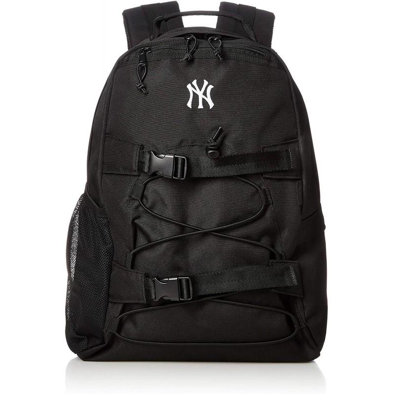 [메이저 리그 야구] 배낭 양키스 거리 통학 용 통근 용 YK - MBBK121 블랙 One Size