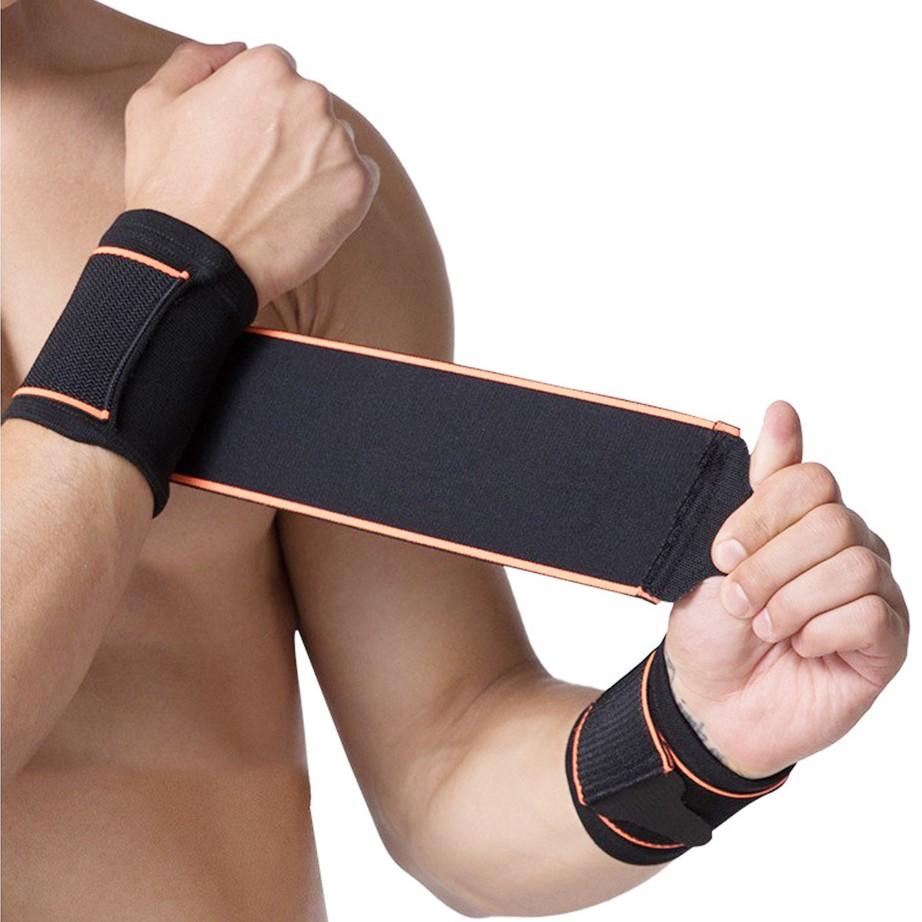 포블럭스 정품 손목보호대 손목스트랩 2p Set, 블랙 2P Set
