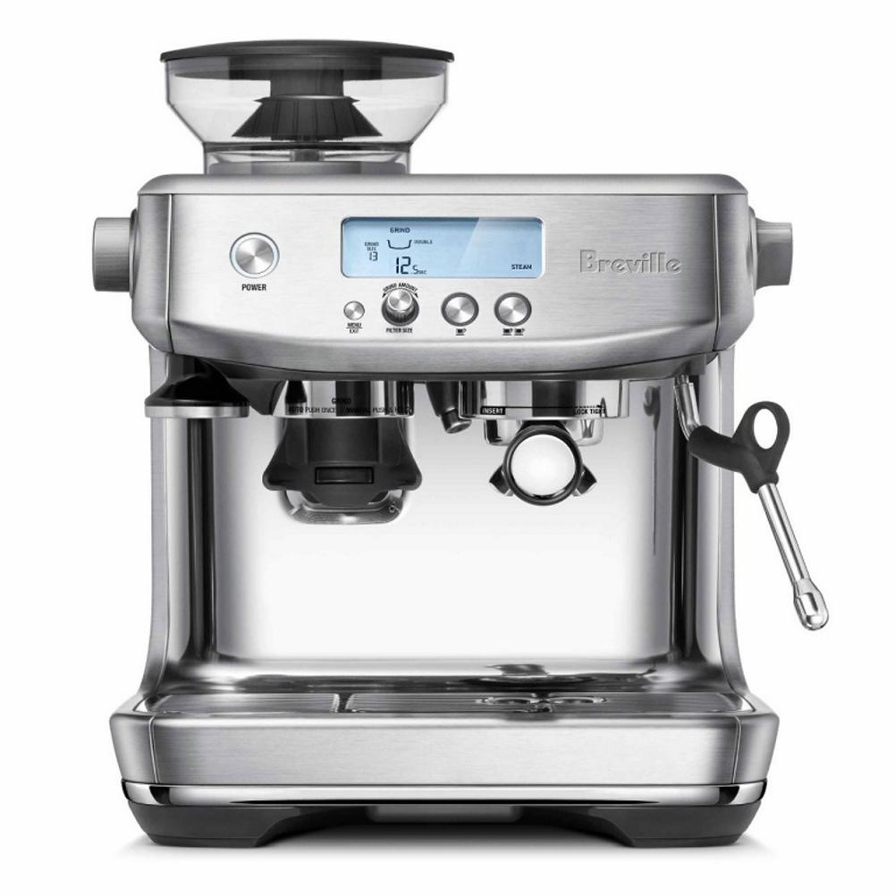 최신형 브레빌 3초 바리스타 프로 에스프레소 자동 커피머신 Breville The Barista Pro BES878 실버 호주직송